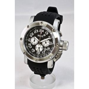 サーファー・ダンサーに大人気!デカ厚腕時計 MAX XL WATCHES(マックスエックスエルウォッチ) 5-MAX421 - 拡大画像