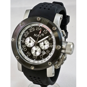 サーファー・ダンサーに大人気!デカ厚腕時計 MAX XL WATCHES(マックスエックスエルウォッチ) 5-MAX424 - 拡大画像