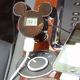 ミッキーシルエットのFMトランスミッター iMusic (ブラック) RX-DNYFMBK 写真2