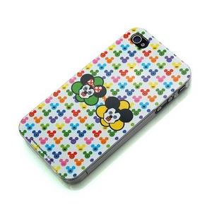 iPhone4用 キュービックマウス バックパネルケース RX-IJK466MM 【2個セット】