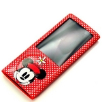 Rix(リックス) iJacket Disney iPod nano 第5世代用 ディズニーセミハードケース 液晶保護フィルムつき (ミニーマウス) RX-iJK521MNE 【2個セット】