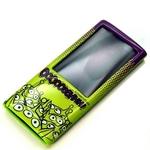 Rix(リックス) iJacket Disney iPod nano 第5世代用 ディズニーセミハードケース 液晶保護フィルムつき (エイリアン) RX-iJK528LGM 【2個セット】