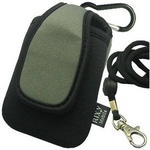 Rix(リックス) 3通りの使い方が出来る 縦型 ネオプレーンケース 携帯・デジカメ等対応 (グレー) RX-NP766GY 【2個セット】
