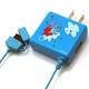 Rix(リックス) ディズニー (Disney) 家庭コンセント (AC) 充電器 FOMA/SoftBank対応 (スティッチ) RX-DNY412STI 【2個セット】