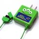 Rix(リックス) ディズニー (Disney) 家庭コンセント (AC) 充電器 FOMA/SoftBank対応 (エイリアン) RX-DNY413LGM 【2個セット】