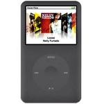 Rix(リックス) iJacket iPod classic 80/120GB専用のなめらかシリコンケース (スモーキーブラック) RX-IPS7G12SB 【3個セット】