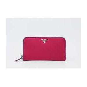 ナイロン 長財布(小銭入れあり) ピンク 1MO0506 IBISCO+DALIA+SAFFIAN