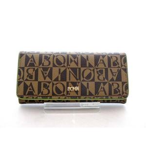 ハイセンスな女性の財布! シンガポールBONIA(ボニア) モノグラム長財布