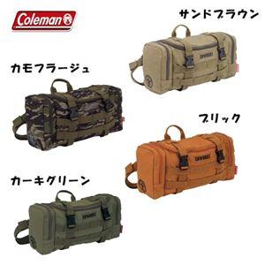 Coleman(コールマン) キャンバスアーミーウエストバッグ CBW9081 l カモフラージュ