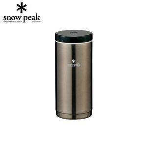 snowpeak(スノーピーク) システムボトル (350mlタイプ) ダークシルバー TW-070DS - 拡大画像