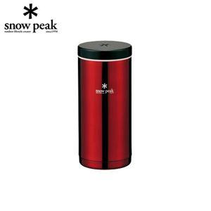 snowpeak(スノーピーク) システムボトル (350mlタイプ) ワインレッド TW-070WR - 拡大画像