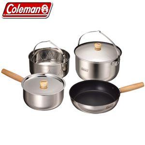 Coleman(コールマン) アウトドアスタッキングクッカーセット/L 170-9372