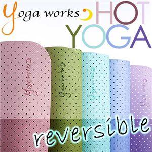 Yogaworks(ヨガワークス) ホットヨガマットスリム 3.5mm オールドローズ