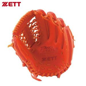 ZETT(ゼット) BPG105硬式グラブプロステイタス BPG105 5800 Dオレンジ LH