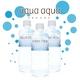 ナチュラルミネラルウォーター aqua aqua 500ml blue 1ケース24本 - 縮小画像4