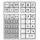 CASIO(カシオ) レジスター TE-300 【シルバー】 × レジロール紙(感熱紙) 10巻セット - 縮小画像2