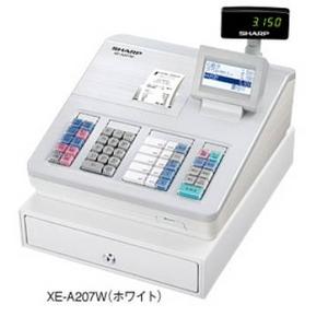 シャープレジスターXE-A207W ホワイト - 拡大画像