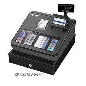 シャープレジスターXE-A207B ブラック - 拡大画像