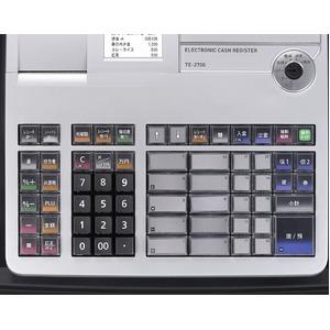 カシオレジスターTE-2700-20S ブラック