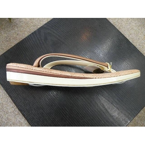 夏草履単品 ベージュ系 603 ★おまけ付き草履 h02