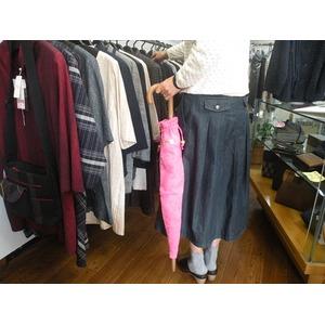 おしゃれな傘カバー女性用『すいとっちくるる』ピンク