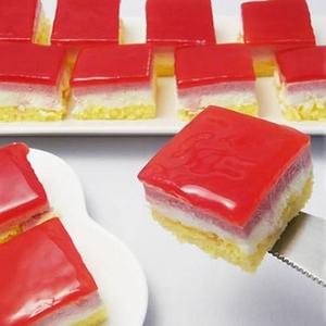 甘酸っぱい味わい♪ムースフランボワーズカットケーキ2本セット - 拡大画像
