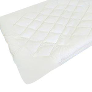 【日本製】ダクロン(R)ホロフィル(R)中綿使用 洗える敷パッド ダブルサイズ - 拡大画像