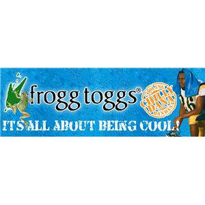 frogg toggs(フロッグトッグス) 冷感バンダナ Chilly Dana(チリーダナ) ブラック 【2枚セット】