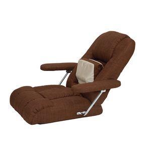 リラックスマッサージ座椅子 AIM-109 ブラウン - 拡大画像