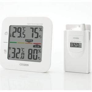 シチズン コードレス温湿度計(簡易熱中症指標表示付き) THD501 - 拡大画像
