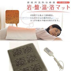 ツカモトエイム 家庭用温熱治療器 岩盤温浴マット T-501 (家庭用温熱治療器) - 拡大画像