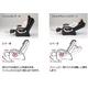 スライヴ マッサージチェア くつろぎ指定席(足もみ機能付き)CHD-8200(k) ブラック - 縮小画像2