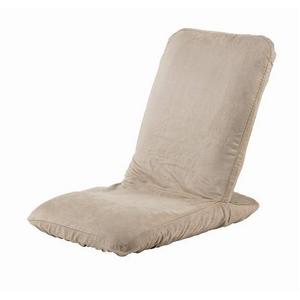 Palmo(パルモ)コンパクト家庭用マッサージ座椅子(ヒーターを内蔵)EM-002【本体+カバーセット】ナチュラルベージュ - 拡大画像