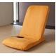Palmo(パルモ)コンパクト家庭用マッサージ座椅子(ヒーターを内蔵)EM-002【本体+カバーセット】シャイニーオレンジ - 縮小画像2