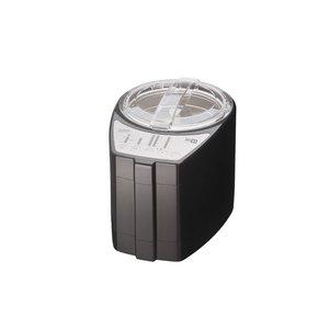 山本電気 MICHIBA KITCHEN PRODUCT ライスクリーナー(精米器)匠味米(タクミマイ) MB-RC23B ブラック - 拡大画像