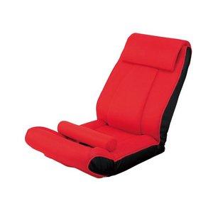 ツカモトエイム porto(ポルト) ボディアップチェア AIM-FN016 レッド(RE) (腹筋座椅子)