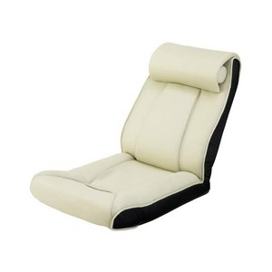ツカモトエイム porto(ポルト) ボディアップチェア AIM-FN016 アイボリー  (腹筋座椅子)  - 拡大画像