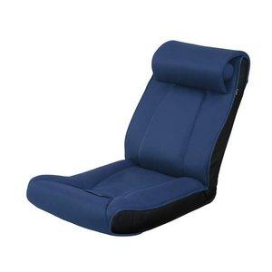 ツカモトエイム porto(ポルト) ボディアップチェア AIM-FN016 ネイビー  (腹筋座椅子)  - 拡大画像