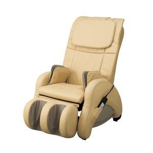 【開梱・設置無料】ツカモトエイム マッサージチェア i-seat(アイ・シート) AIM-1200 合皮ベージュ - 拡大画像