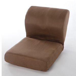 美座椅子 ブラウン(運動器具ボディプロ付) - 拡大画像