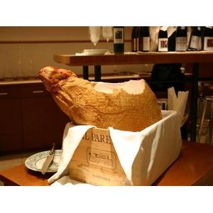 【受注生産 パーティーにぴったり 100人前!】骨付きハム超デカデカ約7〜8kg