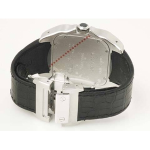 【中古A】Cartier(カルティエ) サントス100 W20073X8 文字盤:ホワイト ベルト:ブラック画像3