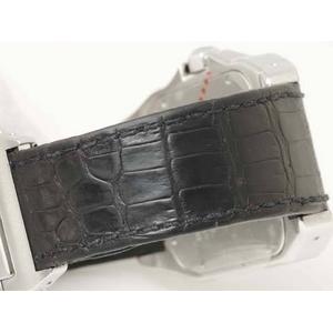 【中古A】Cartier(カルティエ) サントス100 W20073X8 文字盤:ホワイト ベルト:ブラック画像4