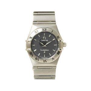 【現品限り】OMEGA(オメガ) 腕時計 コンステレーションミニ 文字盤 クォーツ レディース 文字盤:ブラック 1562.4 【中古A】 - 拡大画像