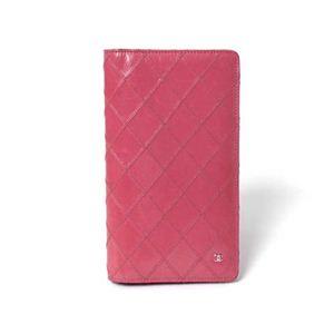 【現品限り】CHANEL(シャネル) ビコローレ 2つ折り長財布 ピンク A46356 【中古AB】 - 拡大画像