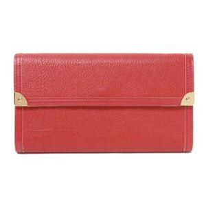 LOUIS VUITTON(ルイ ヴィトン) スハリ 3つ折長財布 ジェラニウム(赤) ジェラニウム(赤) M91881