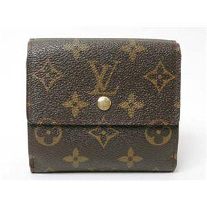 【現品限り】LOUIS VUITTON(ルイ ヴィトン) Wホック財布 モノグラム M61652 【中古B】 - 拡大画像