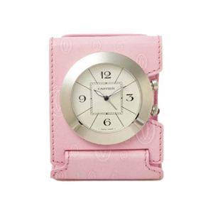【現品限り】Cartier(カルティエ) パシャ ドゥ クロック ハッピーバースデイ 置き時計 ローズピンク/シルバー W0100072 【未使用】