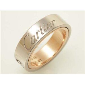 【現品限り】Cartier(カルティエ) ラブシークレットリング K18PG/WG #48 ピンクゴールド/ホワイトゴールド 【中古SA】