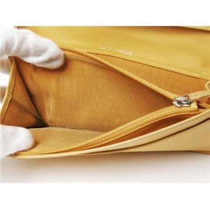【現品限り】CHANEL(シャネル) 2つ折長財布 マトラッセ カーフ イエロー A31509 【中古BC】